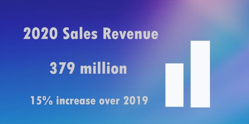2020 Sales Revenue