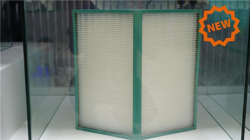 High Efficiency Counterflow Heat Exchanger