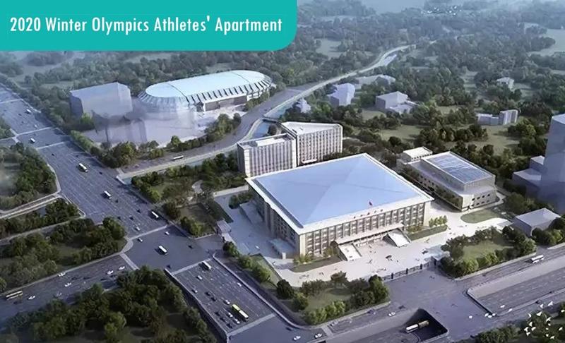 Winter Olympics Athletes' Apartment